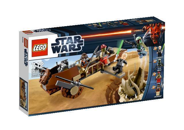 NUOVO LEGO STAR WARS Desert Skiff Speeder costruire solo TATOOINE Chiatta di Jabba