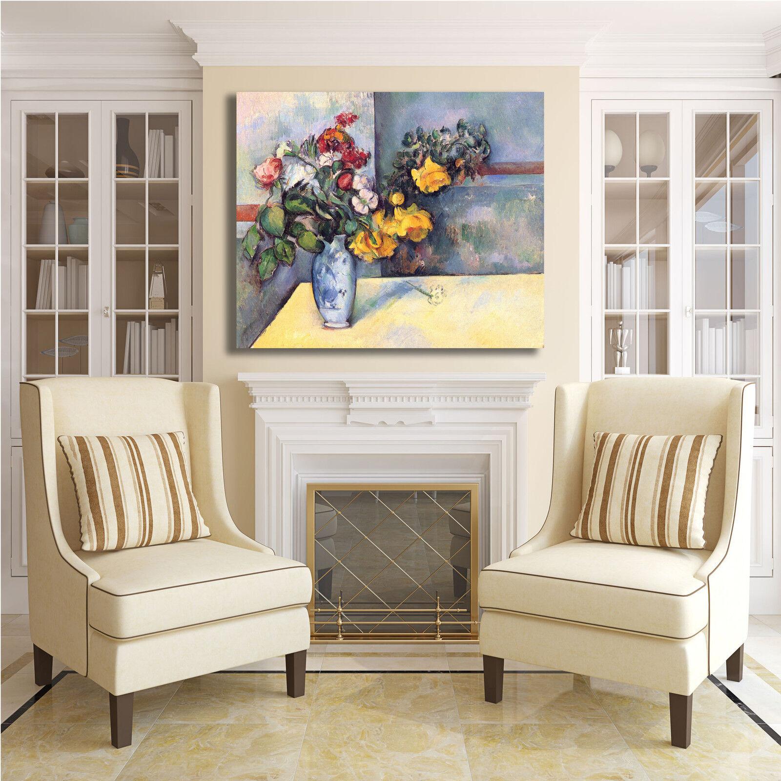 Cezanne natura morta 59 design quadro quadro design stampa tela dipinto con telaio arRouge o casa 524672
