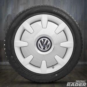 VW-18-in-Hiver-Roues-t5-t6-t6-1-Bus-Multivan-Pneus-Hiver-Disc-jantes-blanc-nouveau