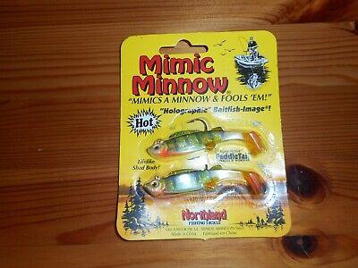 Northland Mimic Minnow Choose Color 1//8 oz