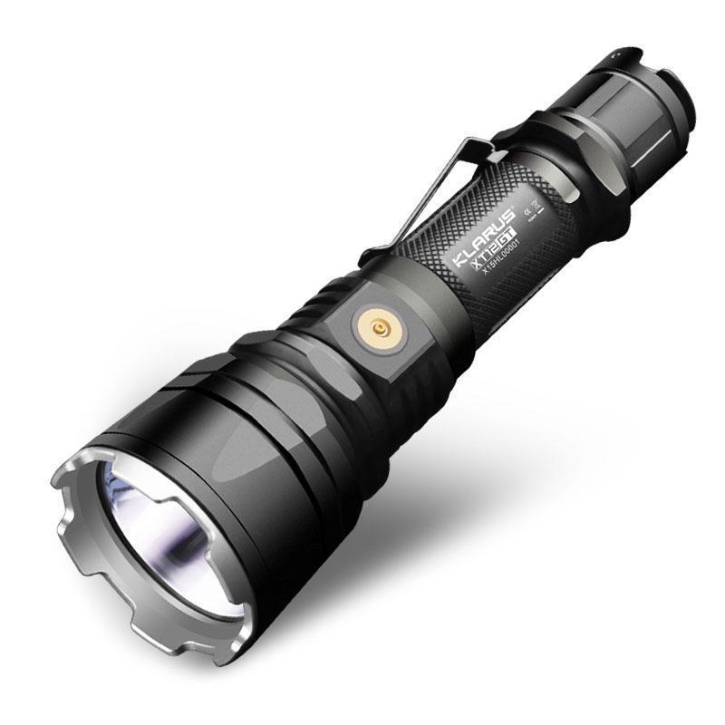 KLARUS XT12GT Tactical LED Flashlight 1600LM 603m Beam Distance