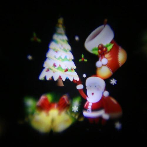 12 styles Outdoor Christmas Landscape Laser Projector Lamp Xmas Garden LED Light