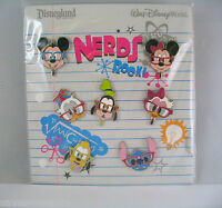 Disney Trading Pins Nerds Rock - Faces All Of Your Favorites Booster Set Of 7