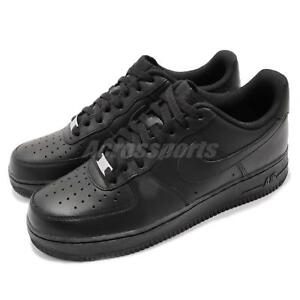 low priced bb9a1 21008 Image is loading Nike-Air-Force-1-07-AF1-Triple-Black-