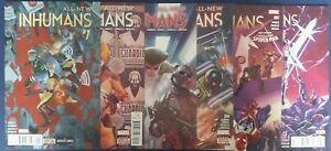 All-New-Inhumans-1-2-3-4-5-6-Marvel-comic-lot-1st-print-2015-NM