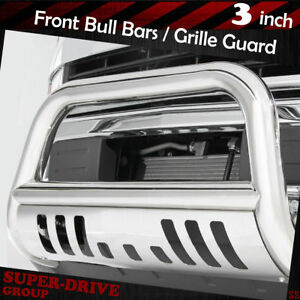 Chrome Push Bumper Bull Bar for 94-01 DODGE RAM 1500 / 94-02 DODGE RAM 2500 3500