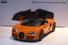 Rastar Bugatti Veyron 16.4 Grand Sport Orange 1:18 Scale Diecast