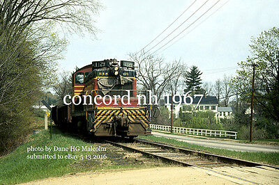 Boston & Maine RR 1129 West Concord NH Claremont Branch 1966   eBay