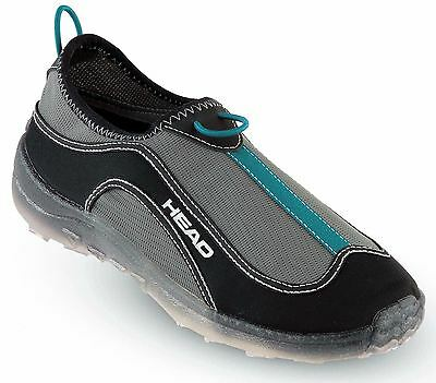 HEAD - Deluxe Fast Drain Aqua Trainer Beach Shoes - Black / Blue - Mens Ladies