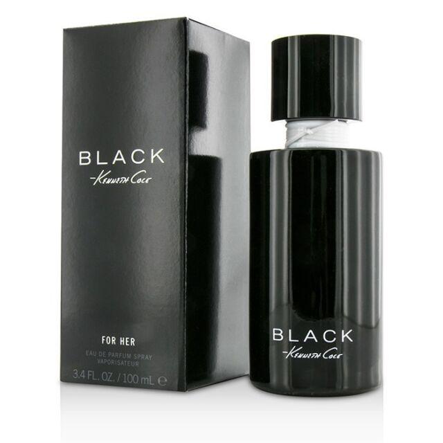 Kenneth Cole Black Eau De Parfum Spray 100ml Womens Perfume