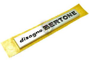 Alfa-Romeo-Chrome-Effect-039-Disegno-Bertone-039-For-The-Alfa-GT-60684624-Genuine