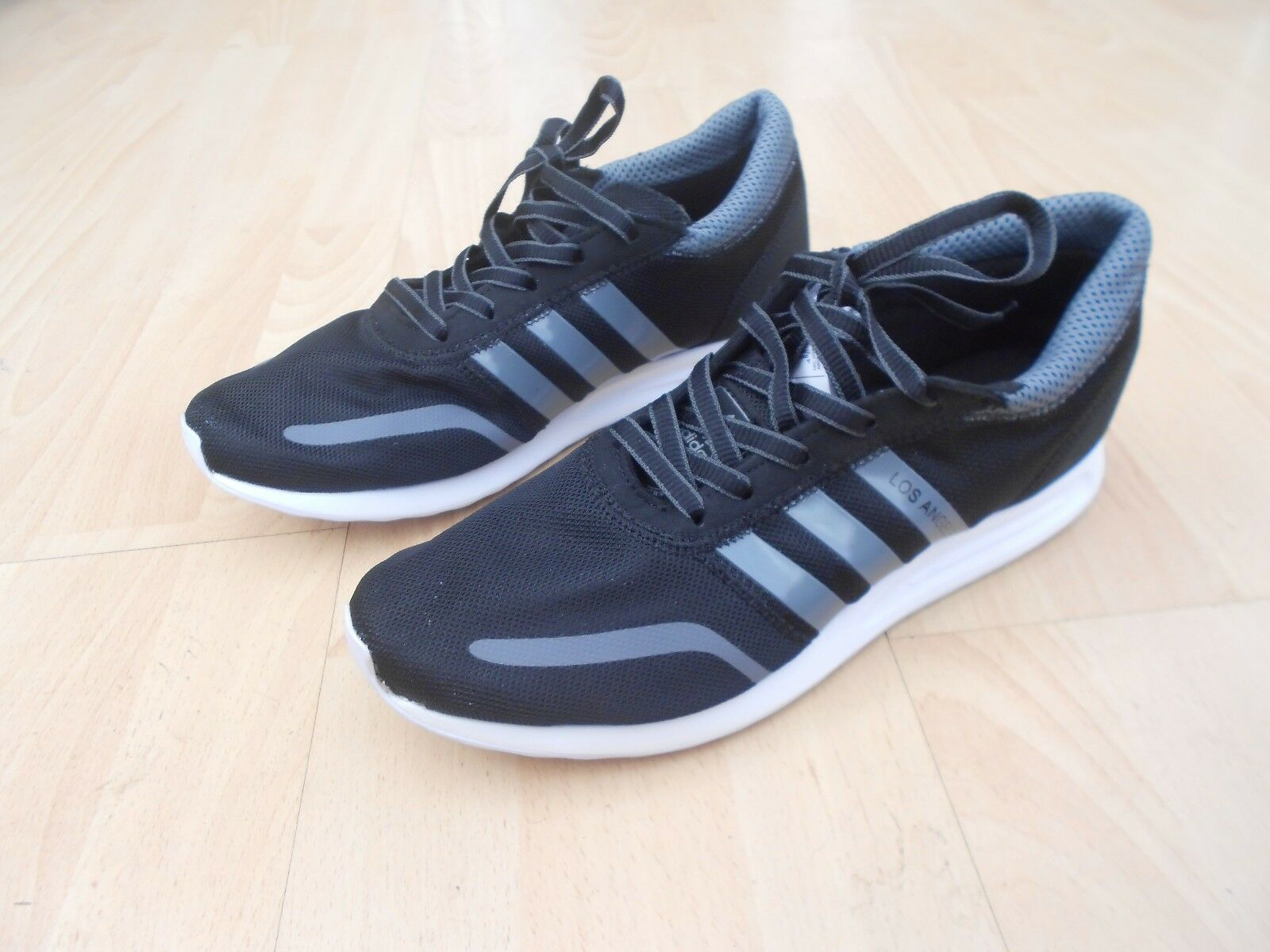 ADIDAS LOS ANGELES TRAINERS UK SIZE 11 -  IN GOOD CONDITION