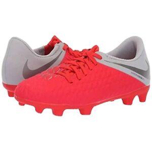 Nike-Hypervenom-Phantom-3-Club-FG-Soccer-Shoes-Cleats-AJ4146-600-SZ-6Y-W-7-5