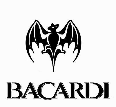 high detail airbrush stencil bacardi logo FREE UK POSTAGE
