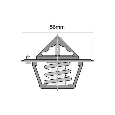 Gates Thermostat TH06177G1 Gaskets /& Seals FOR SUBARU LIBERTY BC