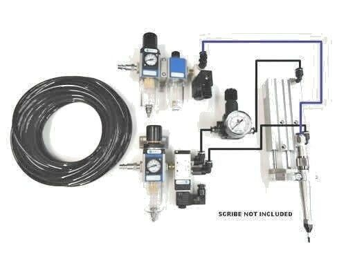 Pneumatique Gravure Stylo main gravure//Marquage//CNC Plasma Cutter sur Pièces