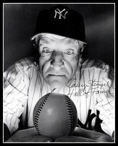 Casey-Stengel-Autographed-Repro-Photo-8X10-1949-New-York-Yankees-Crystal-Ball