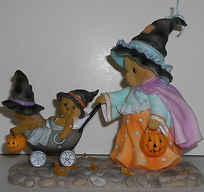 Cherished Teddies Gwyneth Figurine NEW # 4034588 Wee Witches Welcome Limited