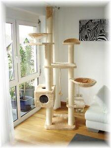 premium kratzbaum monument f r gro e katzen unser topseller wow ebay. Black Bedroom Furniture Sets. Home Design Ideas