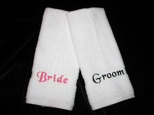Personalized Wedding Gifts Bride Groom : ... Personalized Wedding Bath Beach Towels Mr & Mrs Bride Groom Bridal