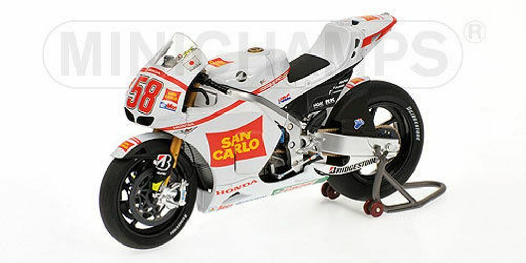auténtico Minichamps 122 111158 Honda RC212V Bicicleta Recuerdo Recuerdo Recuerdo Marco Simoncelli MotoGP 1 12  buena calidad