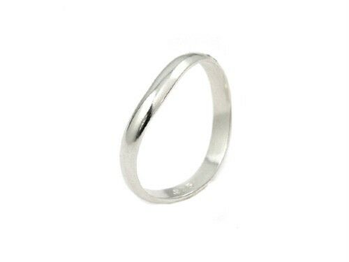 3mm Sterling Silver Comfort Fit Thumb Ring Plain Band