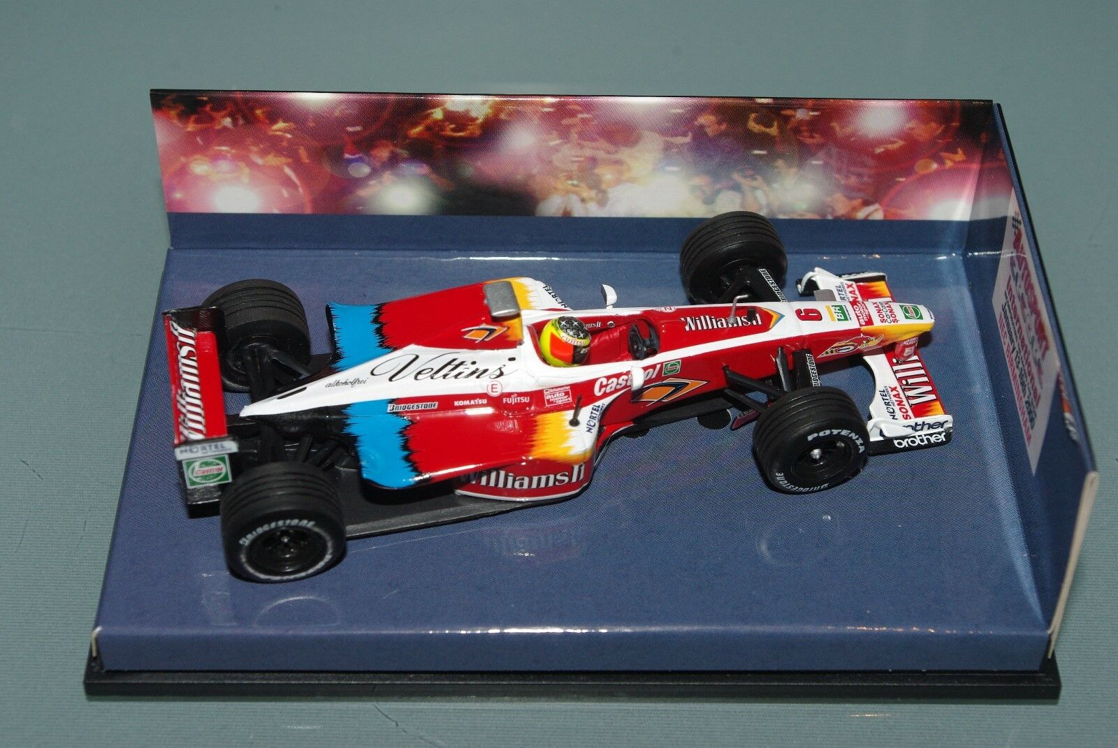 Minichamps F1 1 43 Williams Ralf Schumacher-Autosport súpertec FW21 Edition