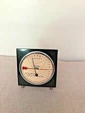 Vintage Antique humidity And Temperature Barometer Meter Middlebury Clock Corp