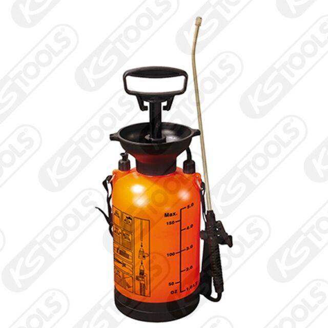 Ks Tools Druckpump-Zerstäuber con Correa de Transporte, 5L Botella Aerosol Bomba