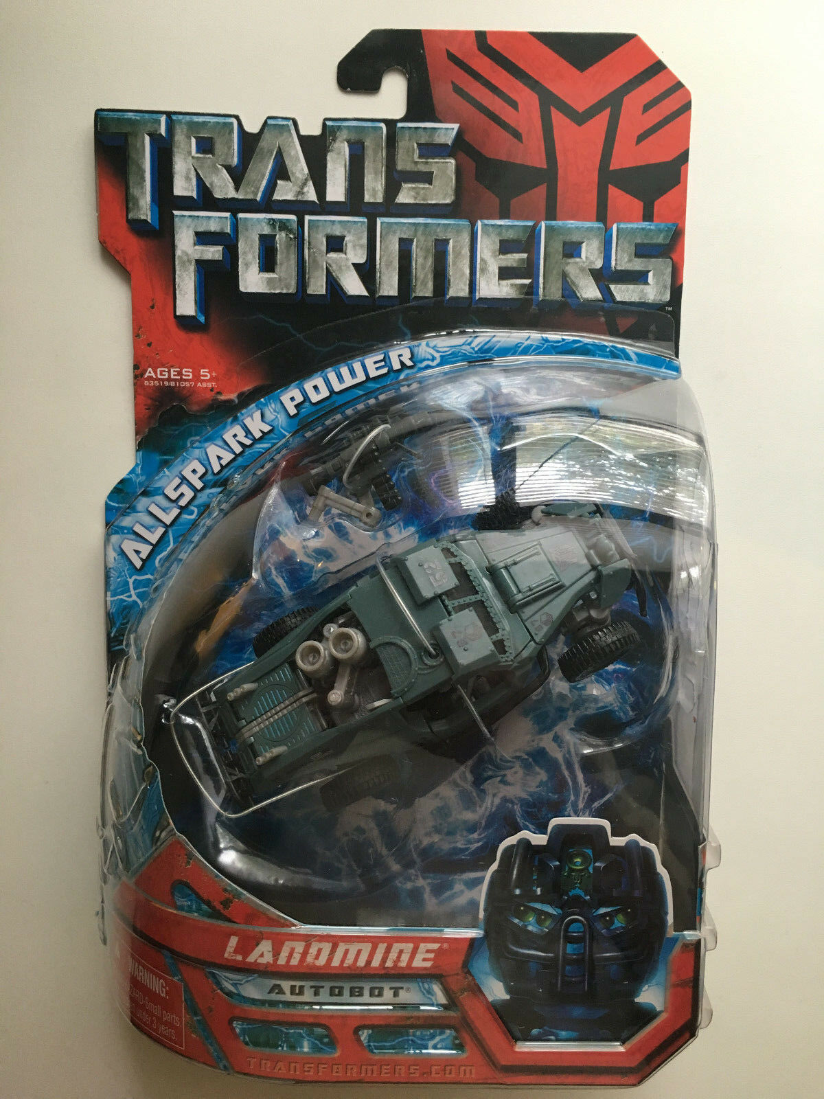 Transformers Movie Deluxe Class Autobot LANDMINE Factory Sealed Hasbro 2007