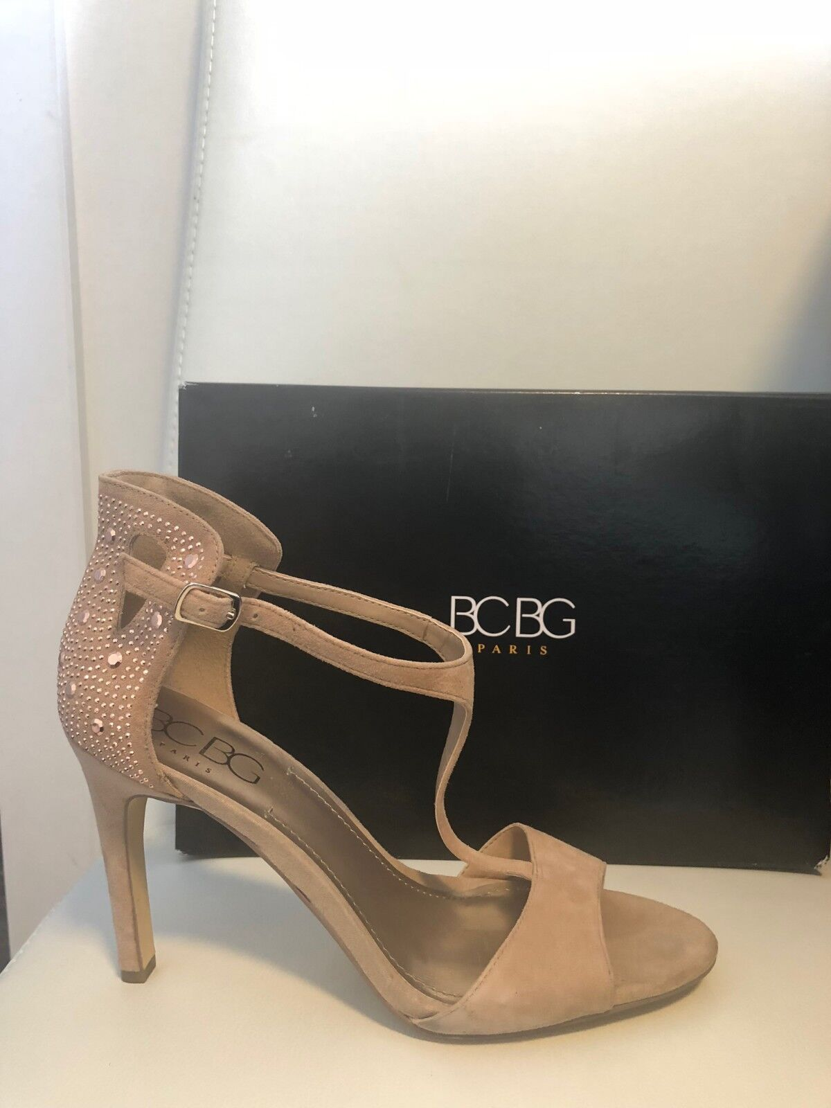 BCBG sandals model MARGINA color CAMEL 9