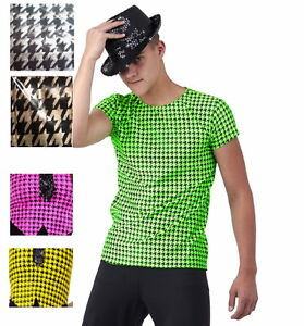 Christmas Mens & Boys Dance Shirt Silver,Gold,Lime,Hot Pink ...