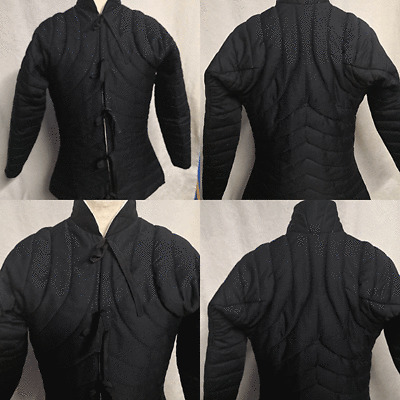 Details about  /Medieval Women Gambeson Thick Padded Female armor LARP SCA HEMA theater costume