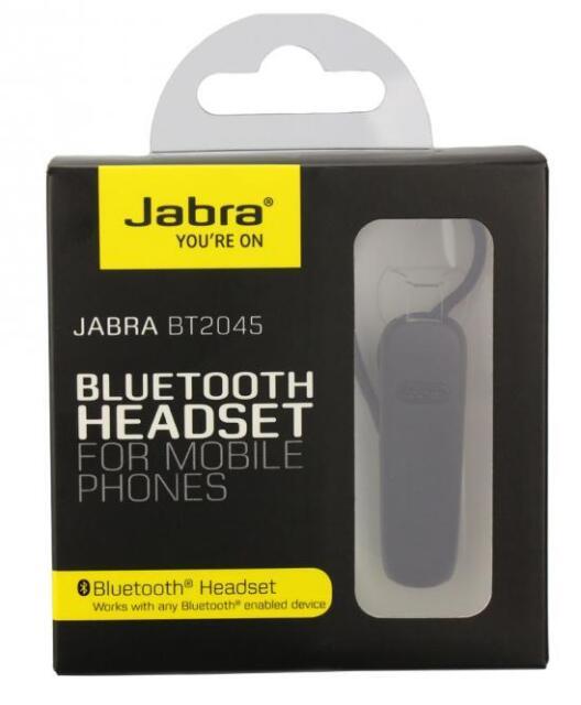 new Jabra BT2045 Bluetooth Headset for Handsfree Calling, High-Tech Microphone