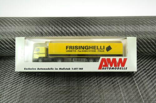 """AMW Sattelzug /""""Frisinghelli/"""" 5733.01 1:87 H0 OVP NOS AWM"""