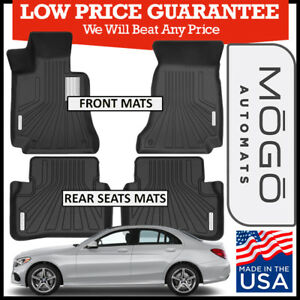 8723f78d068 MOGO™ by Husky Luxury Floor Mats fit 2014-2018 Mercedes-Benz C-Class ...