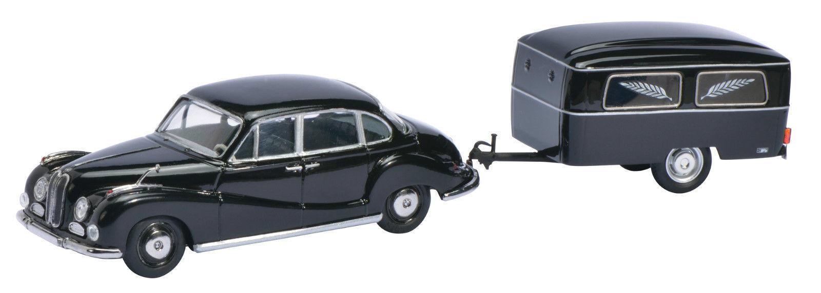 SCHUCO BMW 502 Avec Remorque de Funérailles limité 1000 pièces 1 43