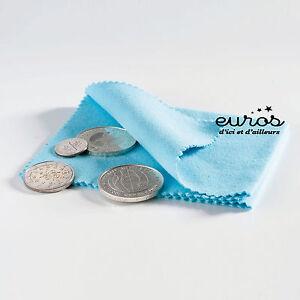 Chiffon-de-polissage-pour-pieces-euro-franc-LEUCHTTURM-Neuf-Sous-Blister