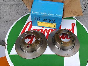 DESTOCKAGE-Paire-de-disque-frein-ARRIERE-CITROEN-XANTIA-1-2