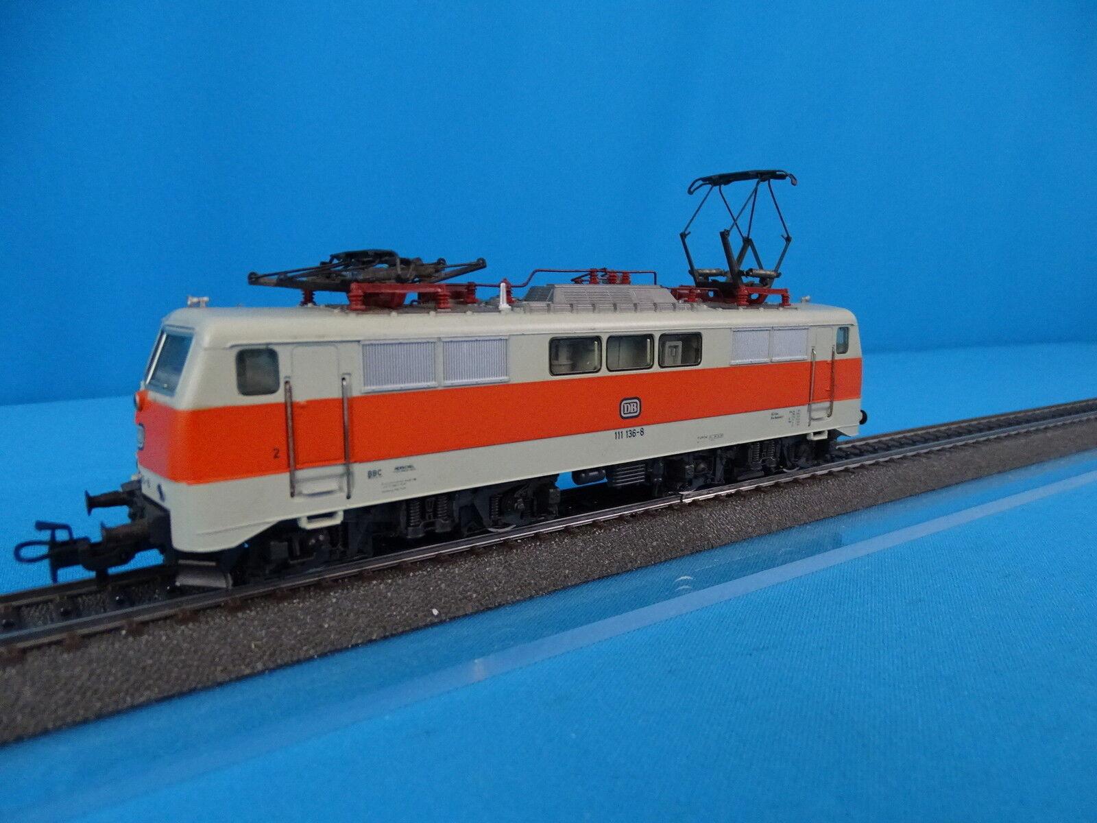 Marklin 3155 DB Electric Locomotive Br 111 Ivory-arancia
