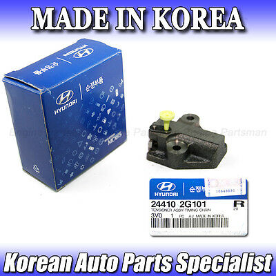 Genuine Hyundai 24410-2G101 Timing Chain Tensioner Assembly