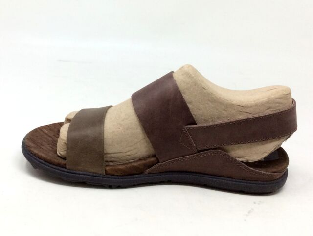96243eee7bc1 Merrell Womens Around Town Backstrap Sandal Brown Green Size 5 M US ...