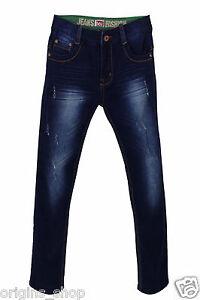 Jeans Enfant Garçon Bleu Brut - Taille 4 à 16 Ans Prix De Rue