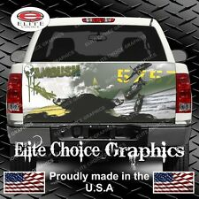 Military Army Navy Airplane Truck Tailgate Wrap Vinyl Graphic Decal Sticker Wrap