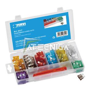 Kit Sortiment Gehäuse Für Kabel 200pz Fervi 0293 IN Oraganizer Aus Kunststoff