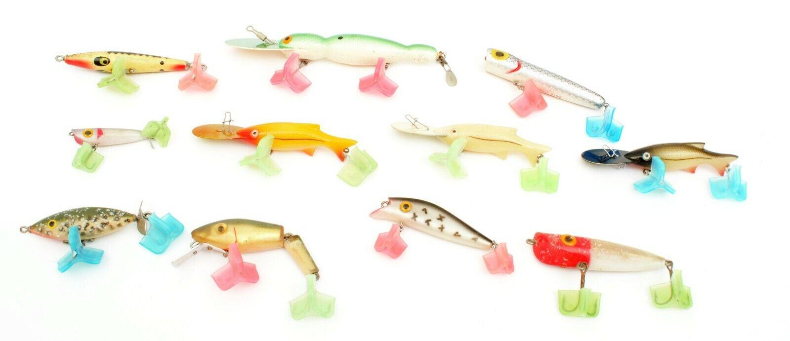 Lot of 11  Vintage Fishing Lures (E)  good reputation