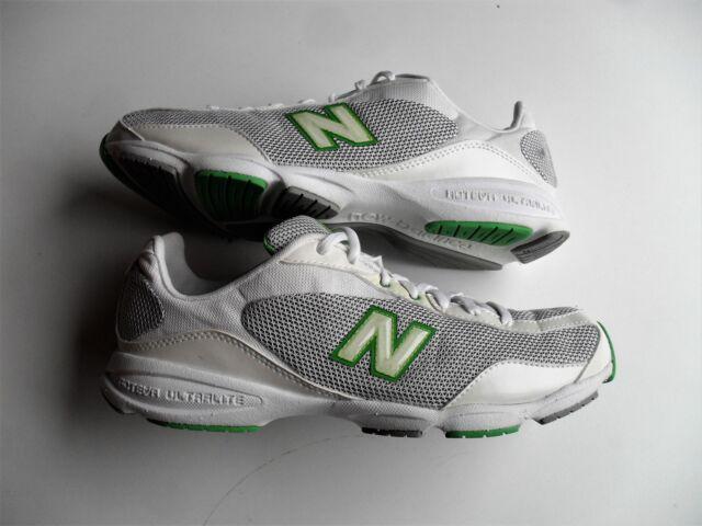 New Balance 662 WL662WG  Women's White/Gray /Green Running Shoes Size 9.5 B US