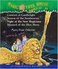 Magic Tree House: Books 33-36: #33 Carnival at Candlelight; #34 Season of the Sandstorms; #35 Night of the New Magicians; #36 Blizzard of the Blue Moon by Mary Pope Osborne (CD-Audio)