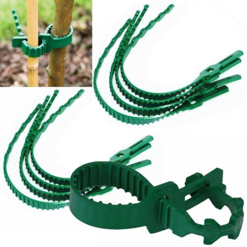 8 Pieces Strong Soft Rubber Interlock Gardening Shrub Ties Tree Plants Support