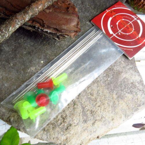 BLOWGUN DARTS10 Piece Target Ammo .40 Cal Assorted Colors